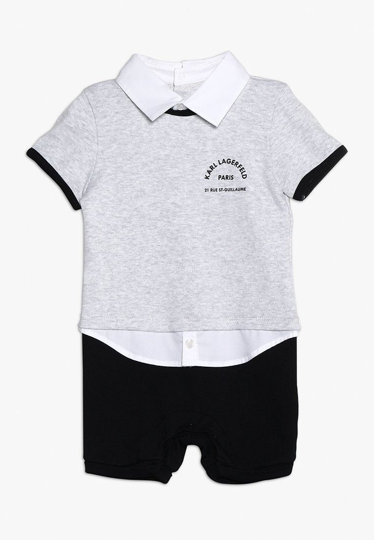 KARL LAGERFELD - KURZOVERALL BABY - Jumpsuit - gris clair chine