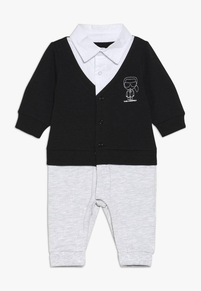 KARL LAGERFELD - OVERALL - Jumpsuit - gris noir