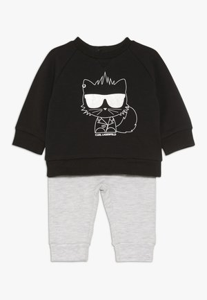 ENSEMBLE SET - Sweatshirt - gris noir
