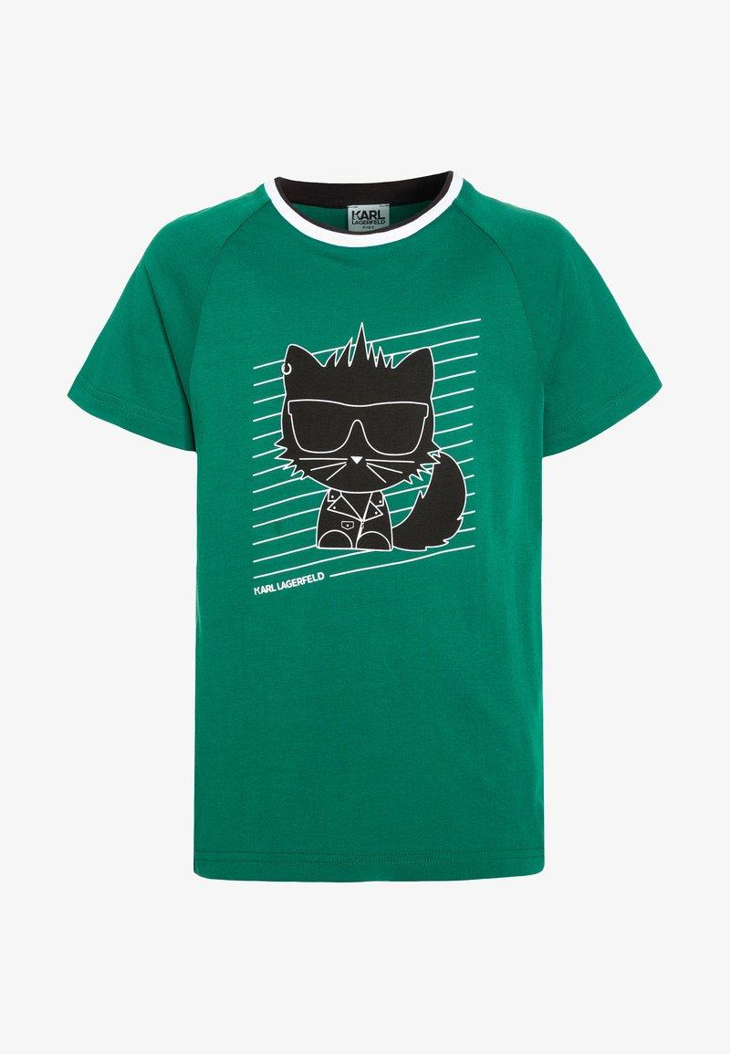 KARL LAGERFELD - T-shirt print - grün