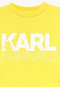 KARL LAGERFELD - Sweater - straw yellow - 3
