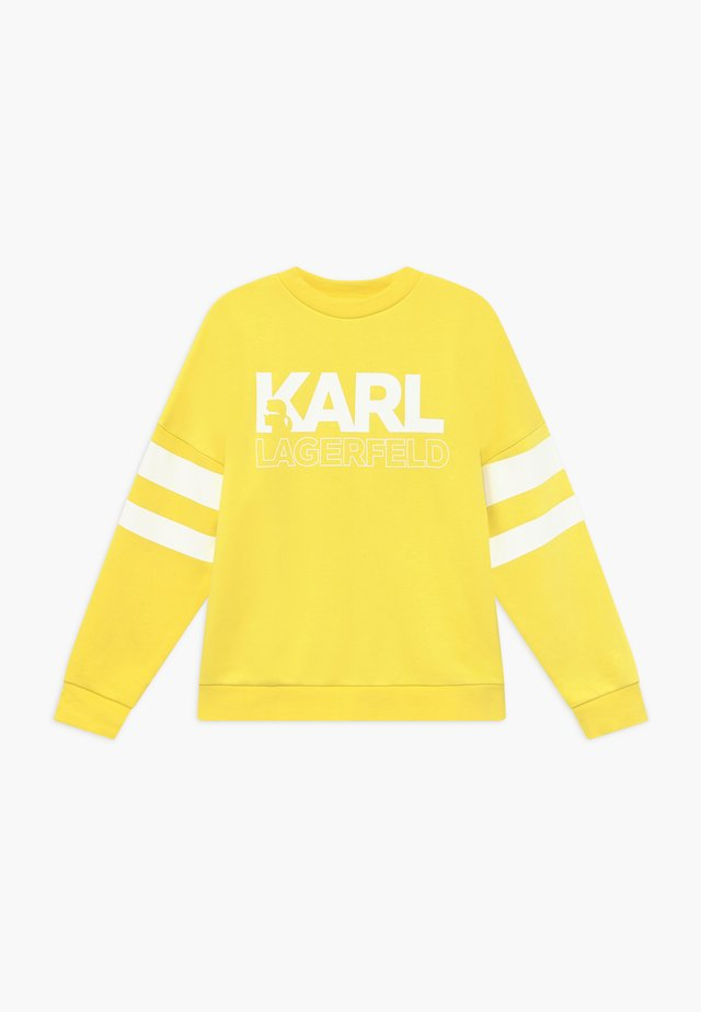 Sweatshirt - straw yellow