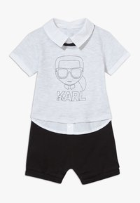 KARL LAGERFELD - ALL IN ONE BABY - Overal - grey/black - 0