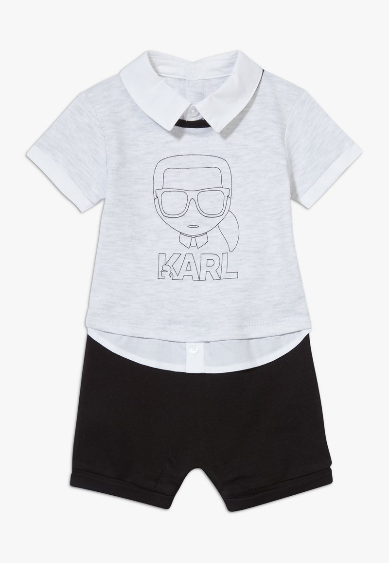 KARL LAGERFELD - ALL IN ONE BABY - Overal - grey/black