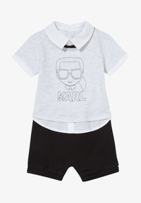 KARL LAGERFELD - ALL IN ONE BABY - Overal - grey/black - 3