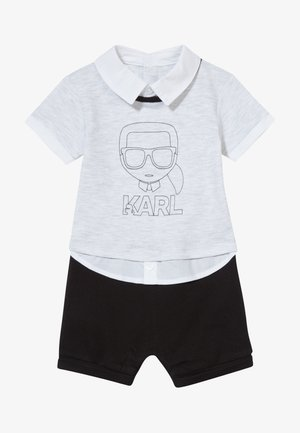 ALL IN ONE BABY - Jumpsuit - grey/black