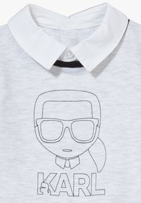 KARL LAGERFELD - ALL IN ONE BABY - Overal - grey/black - 4