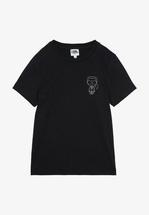 KURZARM - T-shirt imprimé - schwarz