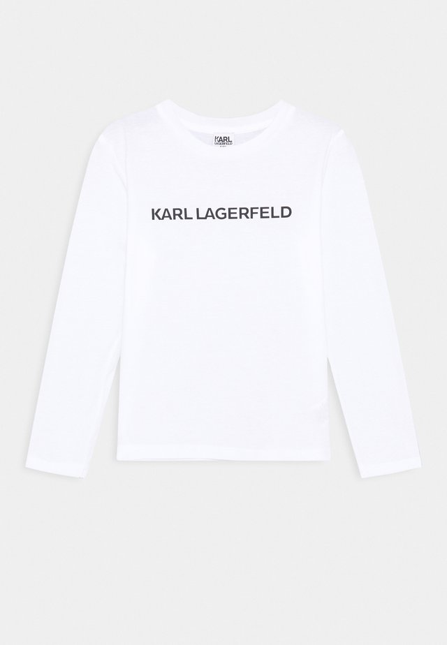 LONG SLEEVE UNISEX - Langærmede T-shirts - white