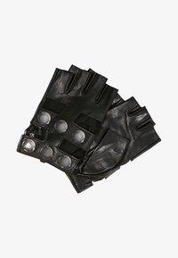 KARL LAGERFELD - SNAPS GLOVE - Fingervantar - black - 0