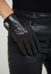 KARL LAGERFELD - IKONIK PIN LONG GLOVE - Guantes - black - 0