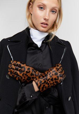 LEOPARD PRINT GLOVE - Gloves - multi