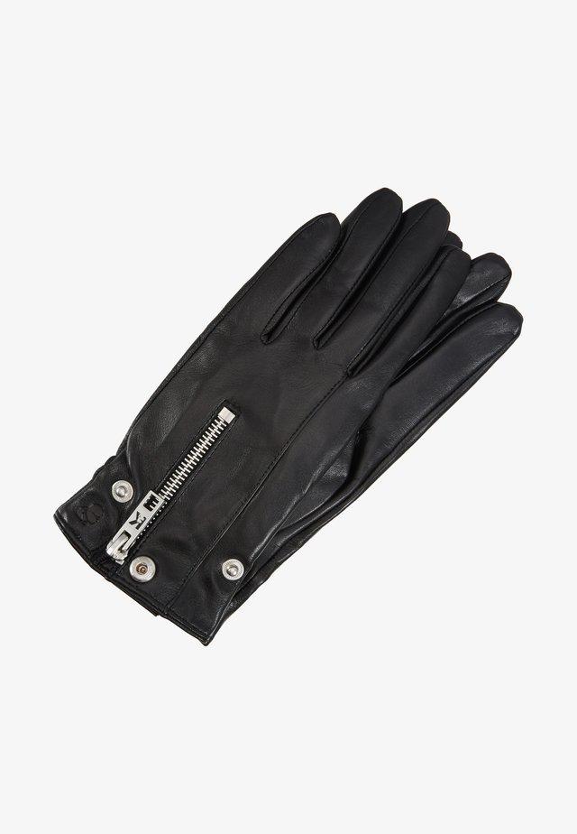 K/KARL BIKER JACKET GLOVE - Fingerhandschuh - black