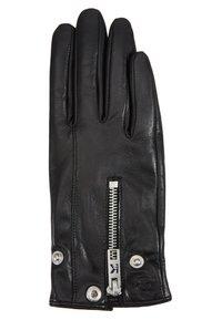 KARL LAGERFELD - K/KARL BIKER JACKET GLOVE - Gloves - black - 2