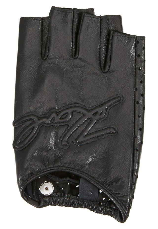 SIGNATURE GLOVE - Kurzfingerhandschuh - black