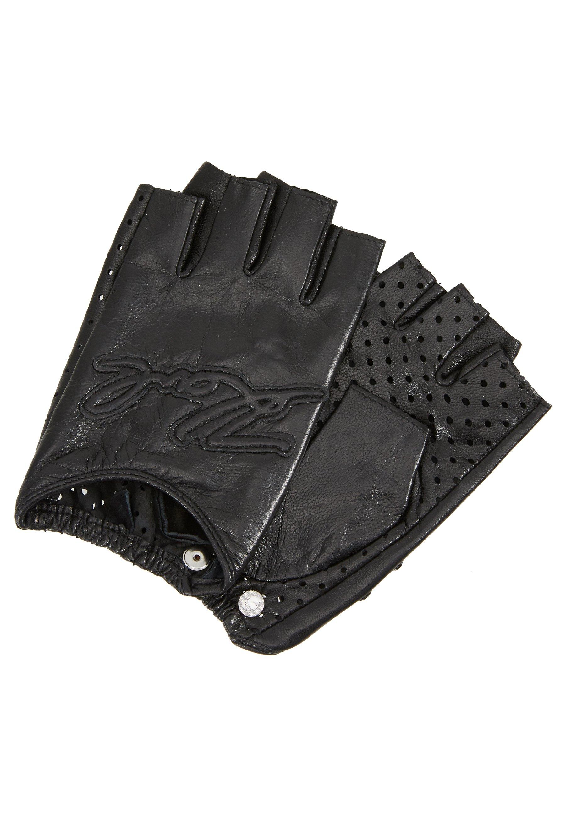 KARL LAGERFELD SIGNATURE GLOVE - Kortfingerhandsker - black