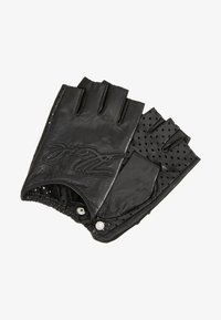 KARL LAGERFELD - SIGNATURE GLOVE - Rukavice bez prstů - black - 1