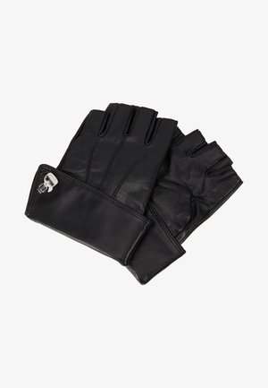 K/IKONIK PIN CUFF GLOVE - Fingerless gloves - black