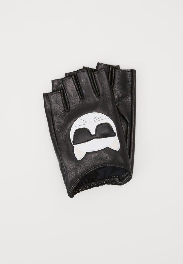 IKONIK GLOVE - Kurzfingerhandschuh - black