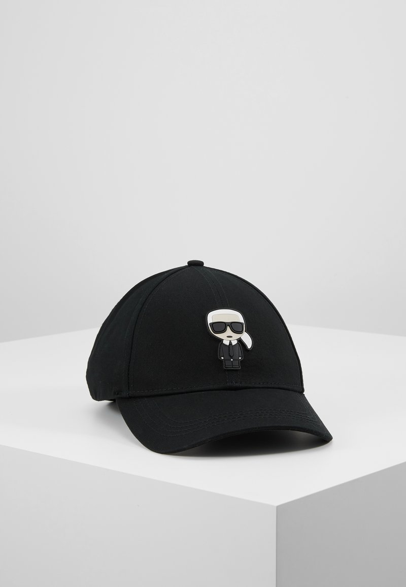 KARL LAGERFELD - IKONIK CAP - Pet - black