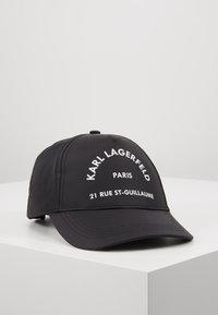 KARL LAGERFELD - RUE ST GUILLAUME CAP - Cap - black - 0