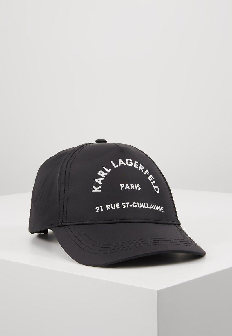 KARL LAGERFELD - RUE ST GUILLAUME CAP - Cap - black