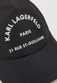 KARL LAGERFELD - RUE ST GUILLAUME CAP - Cap - black - 5