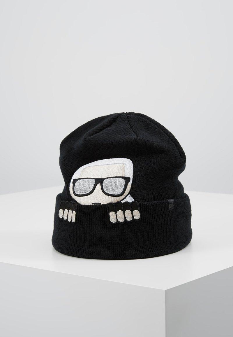 KARL LAGERFELD - IKONIK  - Bonnet - black