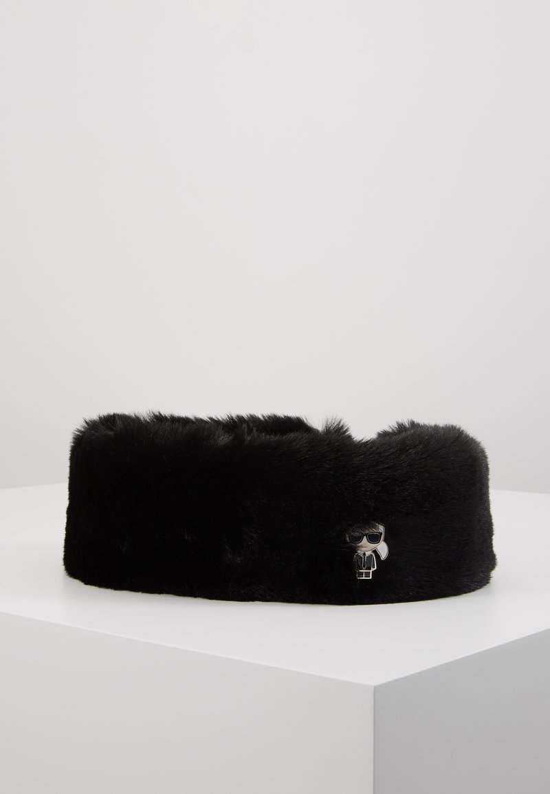 KARL LAGERFELD - IKONIK HEADBAND - Ear warmers - black