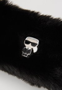 KARL LAGERFELD - IKONIK HEADBAND - Ear warmers - black - 3