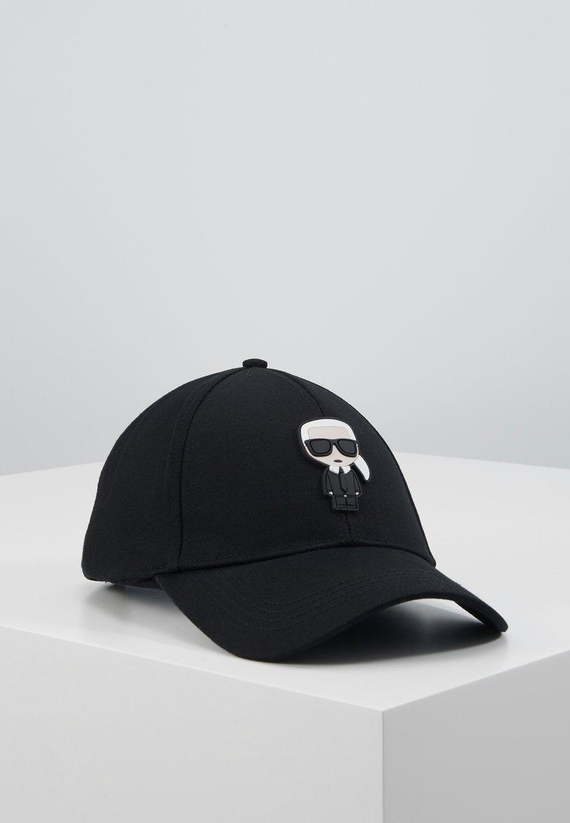 KARL LAGERFELD - IKONIK CAP - Cap - black