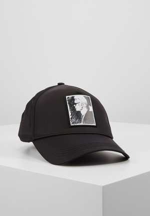 KARL LEGEND CAP - Kšiltovka - black