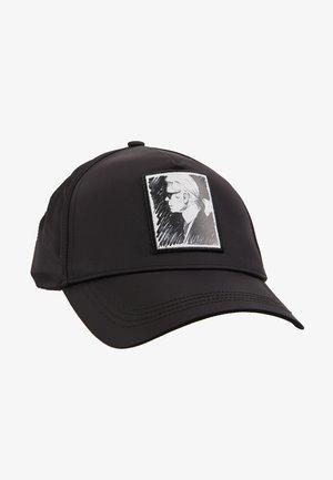 KARL LEGEND CAP - Kšiltovka - black