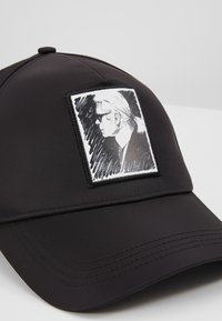KARL LAGERFELD - KARL LEGEND CAP - Kšiltovka - black - 5