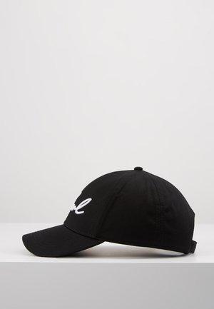 SIGNATURE CAP - Czapka z daszkiem - black