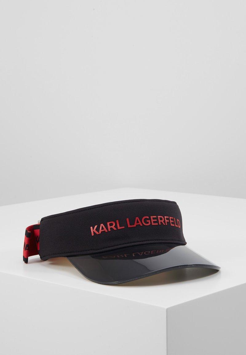 KARL LAGERFELD - VISOR - Pet - black
