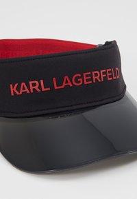 KARL LAGERFELD - VISOR - Pet - black - 2