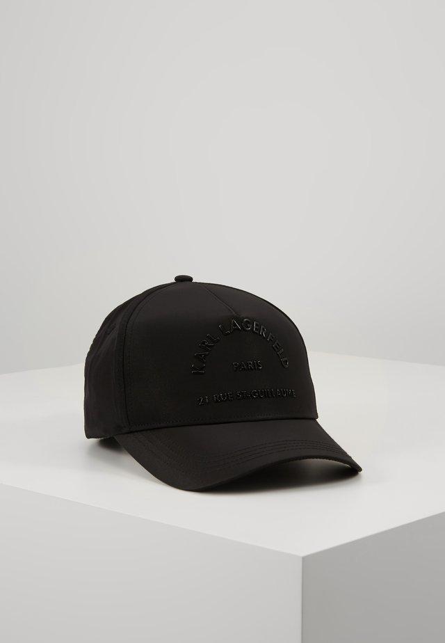 RUE ST GUILLAUME CAP - Cap - black