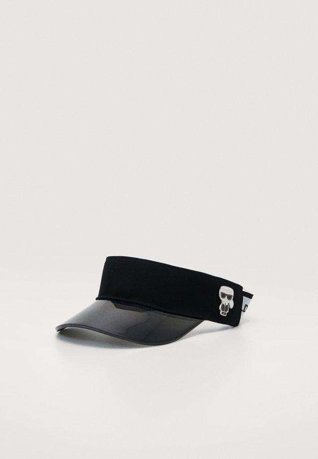 IKONIK VISOR - Cap - black/white