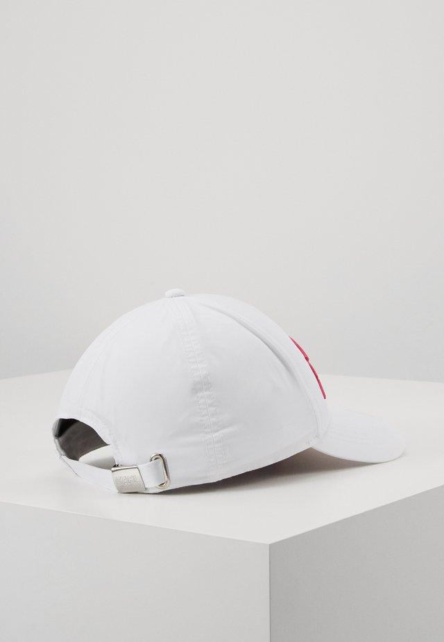 SIGNATURE CAP VISOR PRINT - Caps - white/multi
