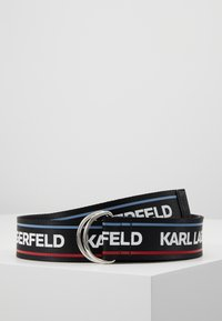 KARL LAGERFELD - WEBBING WAIST BELT - Cinturón - black - 0
