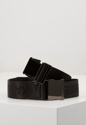 KARL X CARINE BELT - Ceinture - black