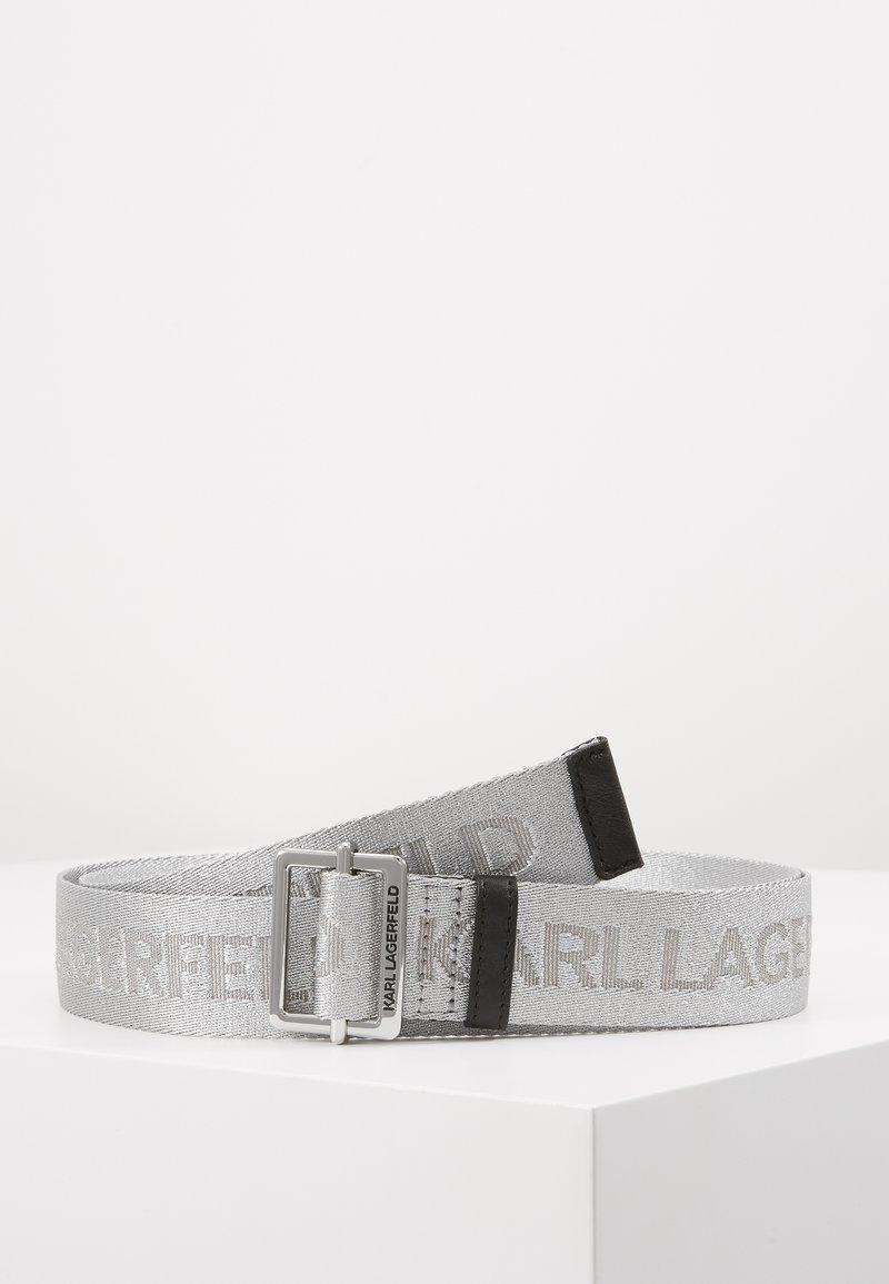 KARL LAGERFELD - Pásek - silver