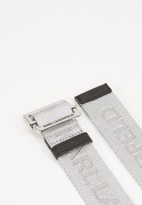 KARL LAGERFELD - Pásek - silver - 4