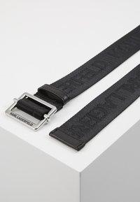 KARL LAGERFELD - LOGO BELT - Belt - black - 3