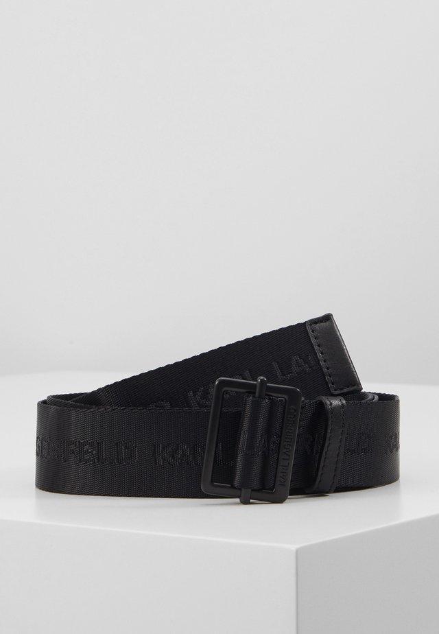 LOGO BELT - Belt - black