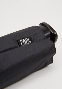 KARL LAGERFELD - K/IKONIK KARL PRINT UMBRELLA - Parapluie - black - 1
