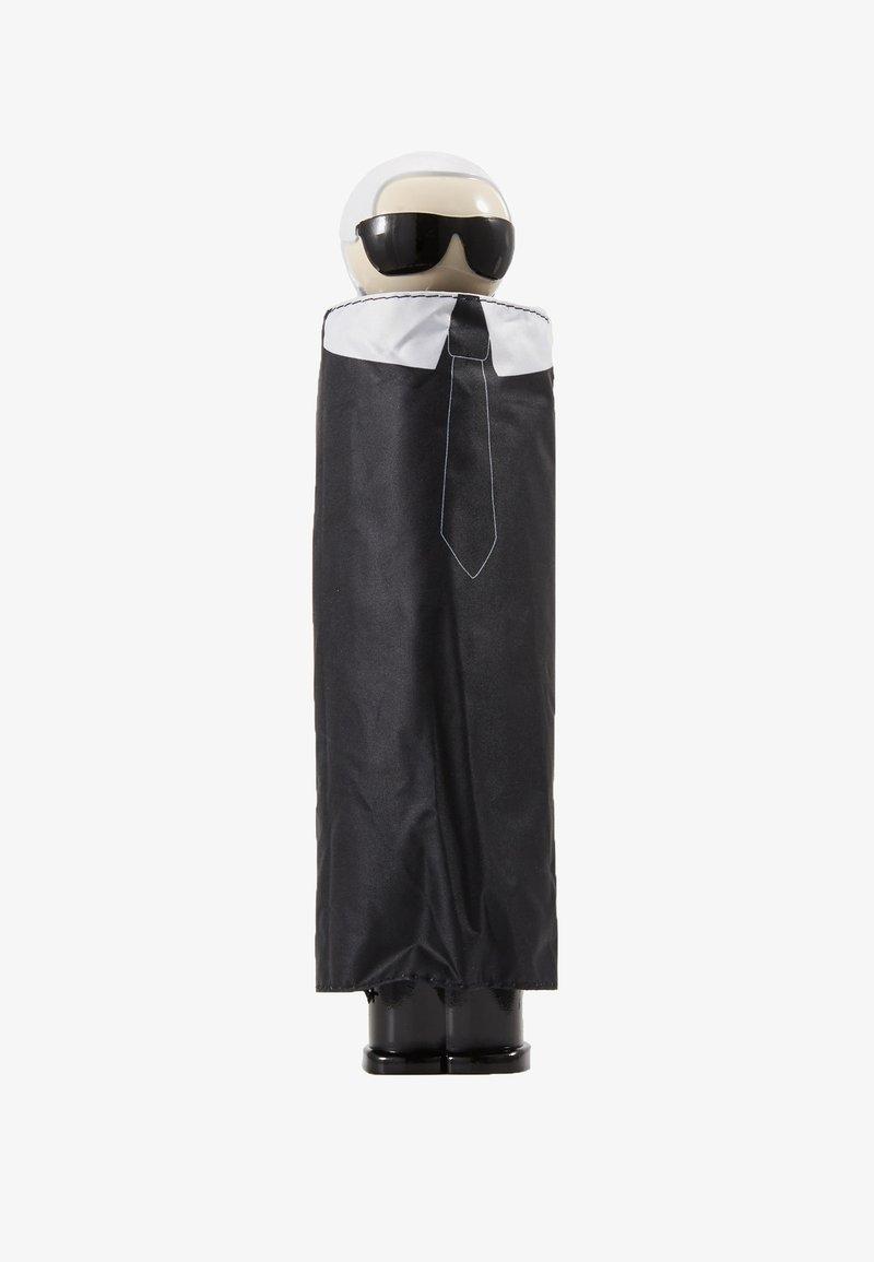 KARL LAGERFELD - K/IKONIK KARL PRINT UMBRELLA - Parapluie - black