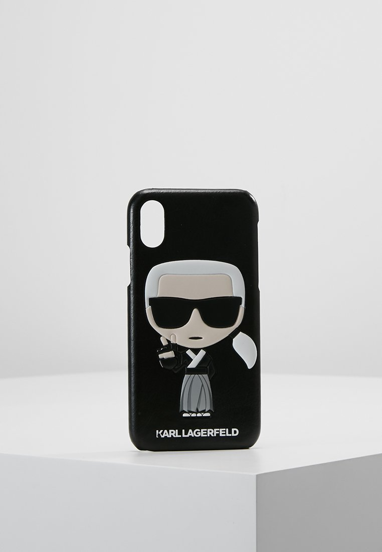 KARL LAGERFELD - IN TOKYO - Portacellulare - black