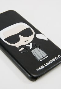 KARL LAGERFELD - IN TOKYO - Portacellulare - black - 2